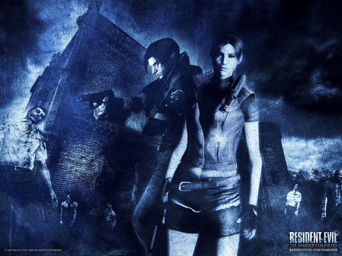 Leon and Claire - cynthia-selahblue-cynti19 Wallpaper