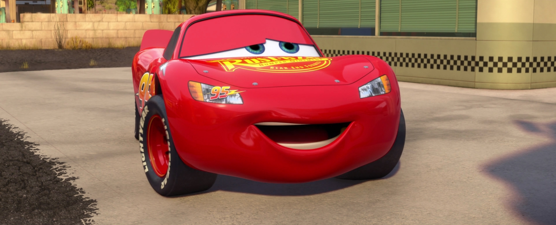 Lightning In Radiator Springs Lightning Mcqueen Photo 27053482