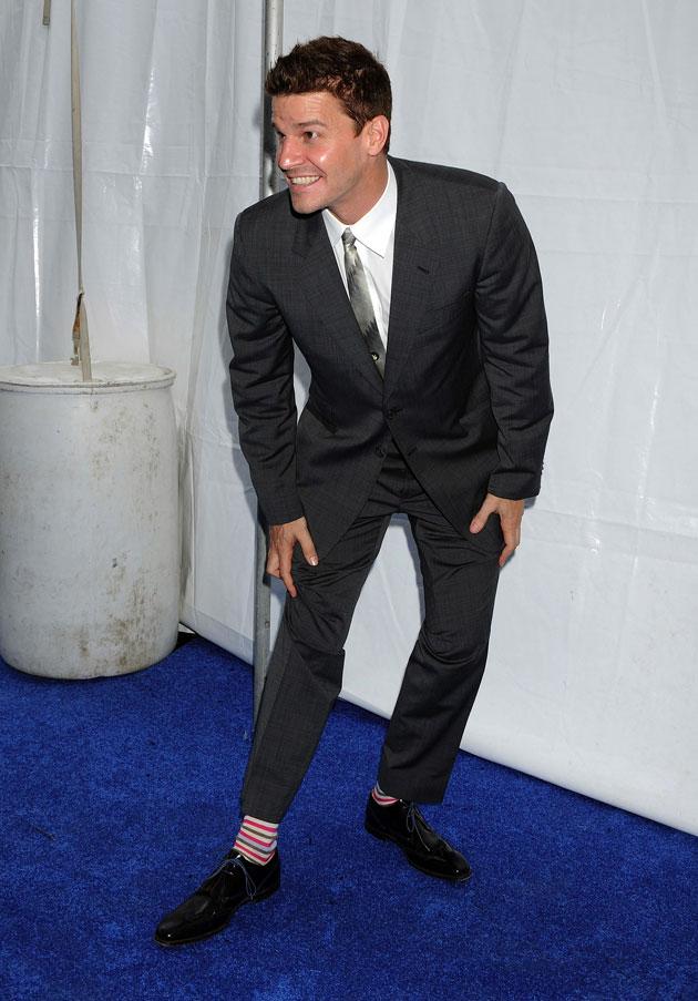Look, Ma, striped socks! LOL