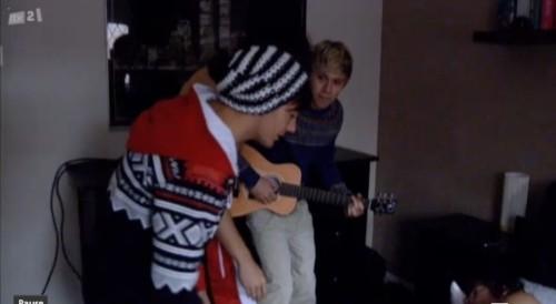 Louis in a Zaini hat..!