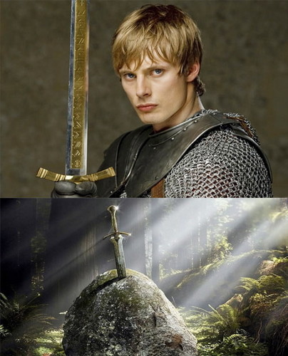 Merlin Episodes 12-13 - Excalibur - Now Arthur Has Gameface!