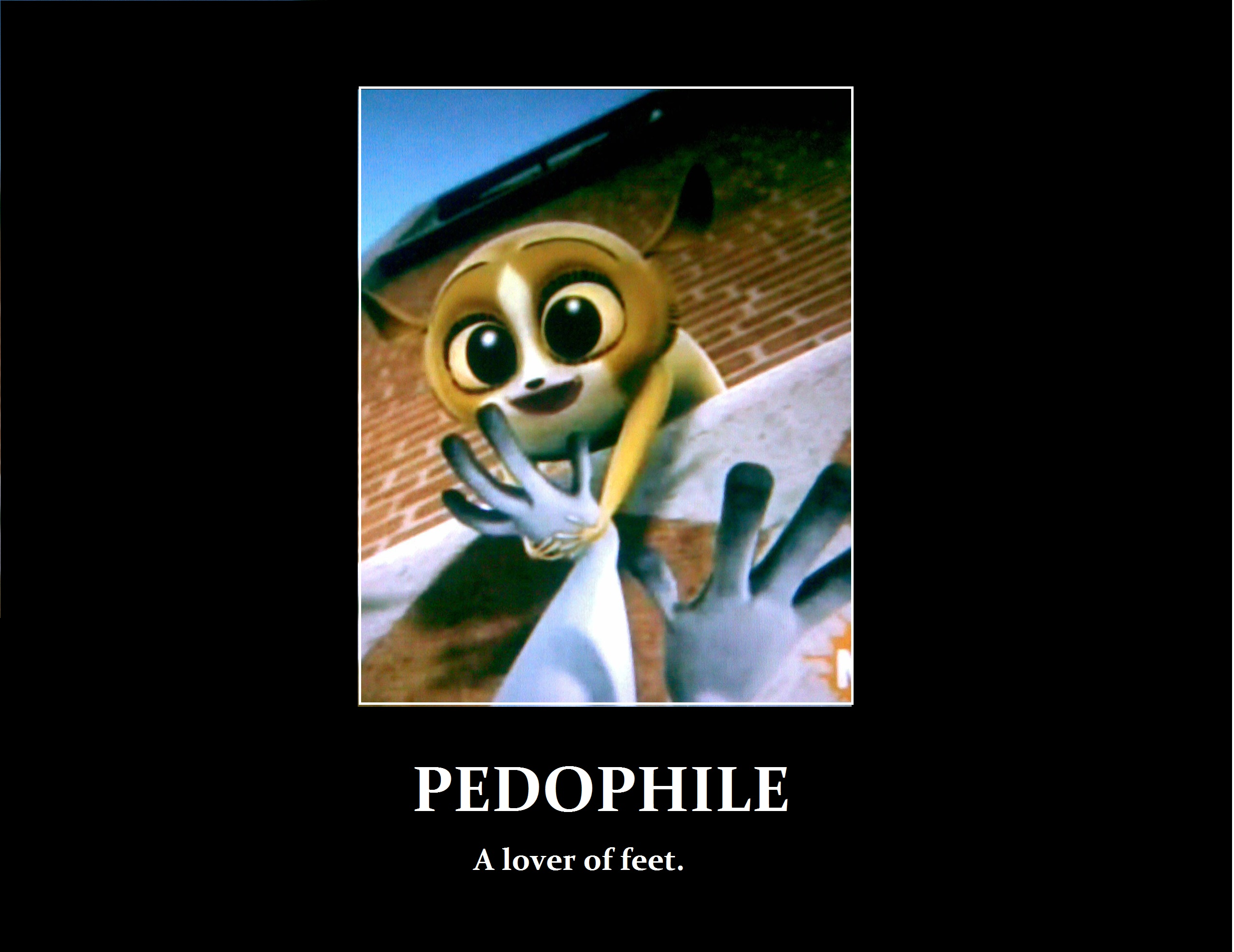 Mort is a pedophile...