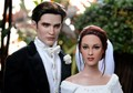 Muñecos representativos de Edward y Bella en la boda - twilight-series photo