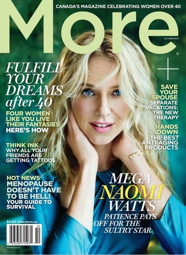 Naomi Watts - More Magazine Oct. 2011