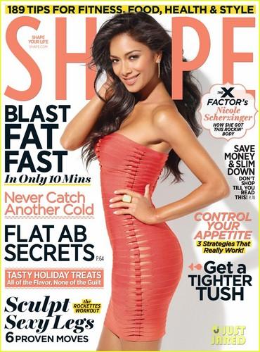 Nicole Scherzinger Covers 'Shape' December 2011
