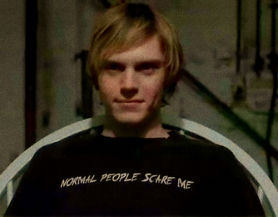 Normal people scare me.