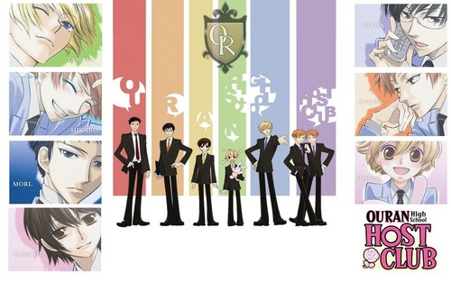 ouran high school host club wallpaper probably with a sign and anime titled Ouran~