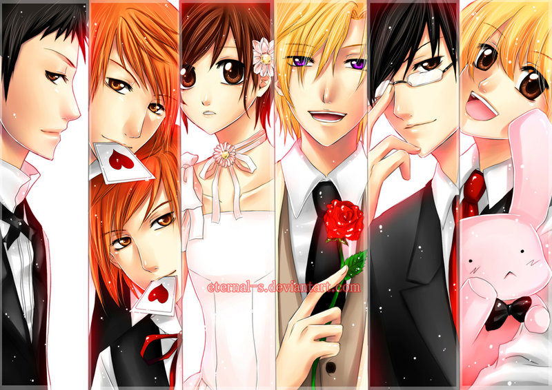 ouran highschool host club dating game