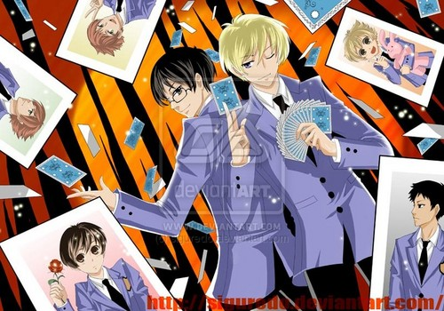 Ouran High School Host Club Hintergrund containing Anime titled Ouran