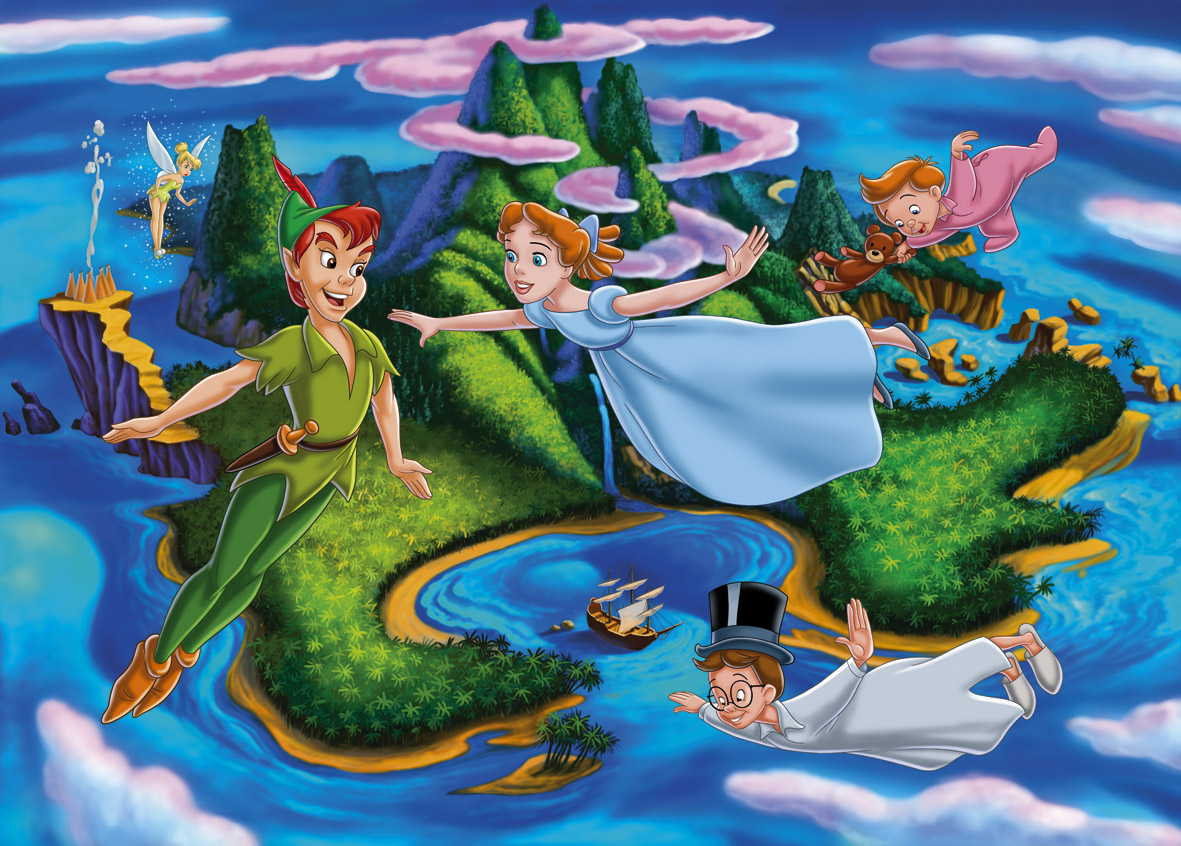 Disney Peter Pan Lets Over London Best Pictures For