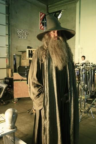 "Paul Randall - scale double: ""Gandalf"""