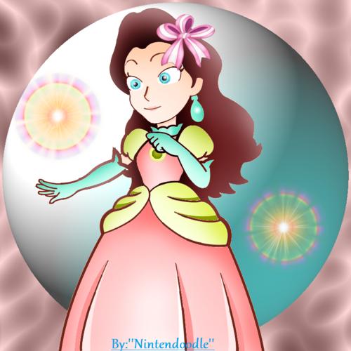 Pauline as a Princess