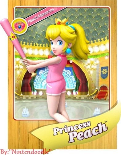 Princess Peach wallpaper possibly containing anime titled Peach back