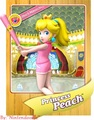 Peach back - princess-peach photo