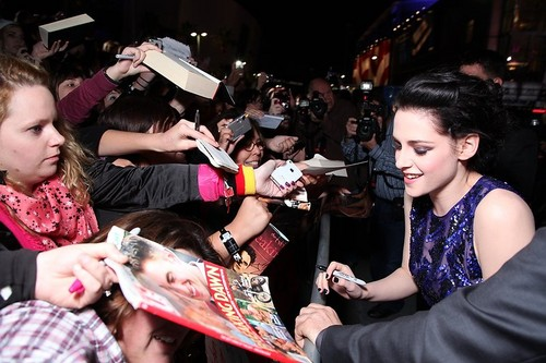 Premiere de Breaking Dawn Part 1 en Los Angeles