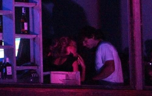 Rafael Nadal and Shakira kiss in night....