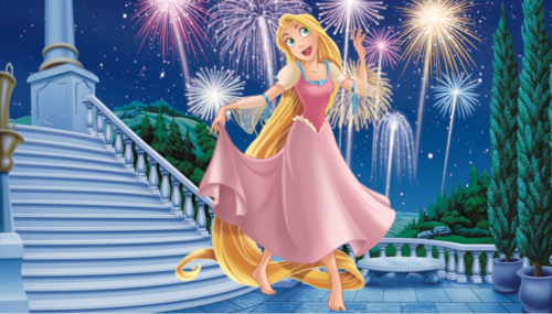 Rapunzel New Dress