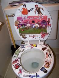 Regular tampil Toilet