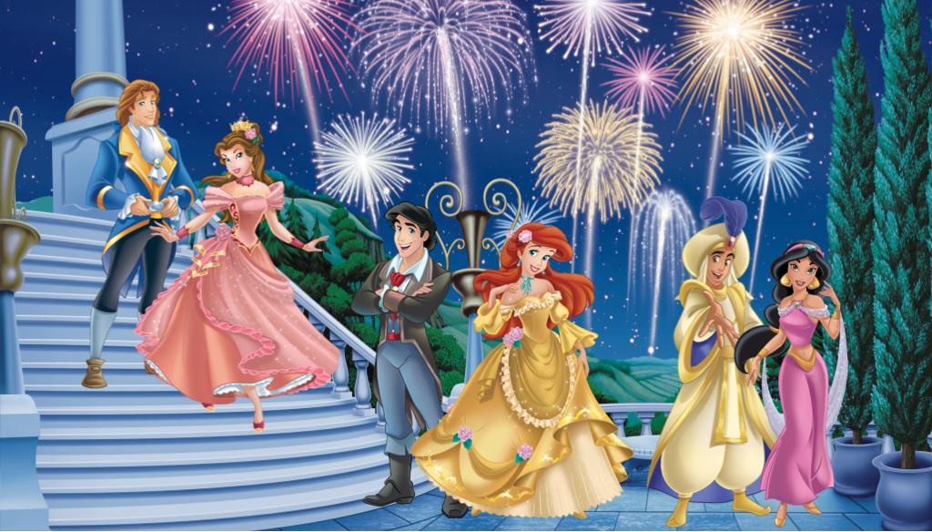 Disney Princes And Princesses