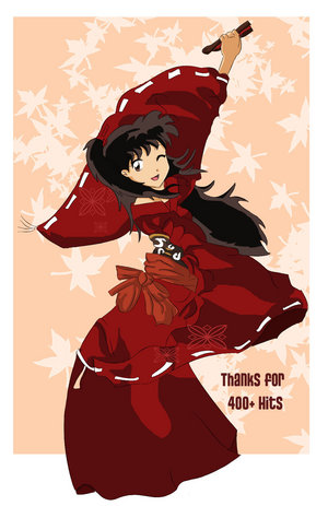 Inuyasha girls hình nền titled Rin