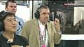Rowan Atkinson At Indian GP Funny Reaction LOL