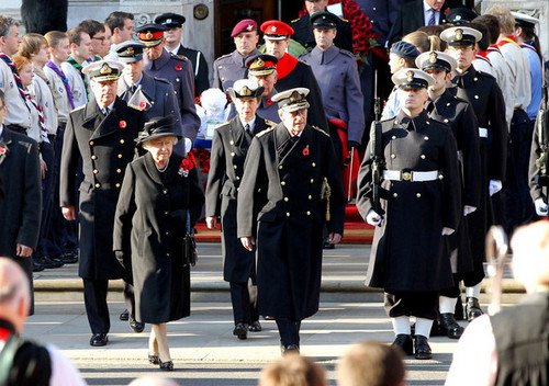 Royals at Remembrance Sunday Service