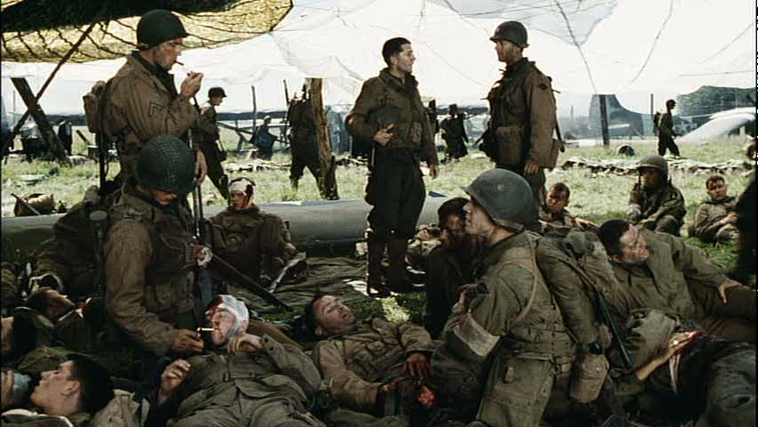 the depiction of the tragedies of war in the film saving private ryan The film also makes use of handheld camera techniques to films some parts of the battle sequences, something that private ryan wouldn't perfect for another two decades, with it helping to make.
