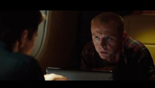 Simon as Benji in Mission Impossible Ghost Protocol