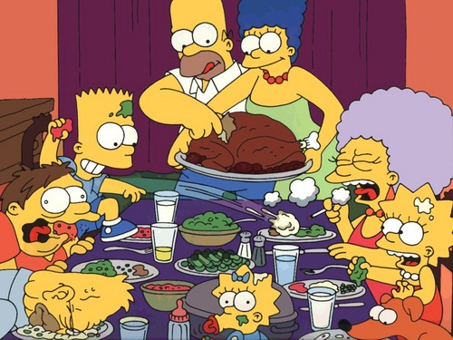 Jeϟϟi's Groupies ♠ images Simpson's Thanksgiving, lol ^_^ HD wallpaper and background photos