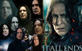 Snape Collage - severus-snape wallpaper