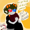 Sollux and KK - homestuck-fans fan art