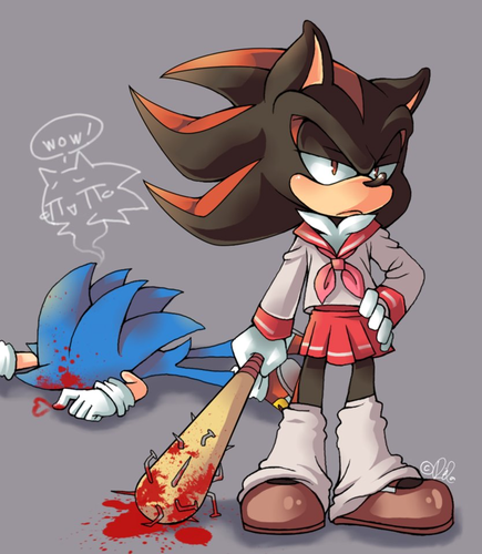 Sonadow wallpaper probably with anime titled Sonadow