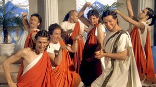 Horrible Histories Обои called Spartan School Musical