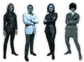 Steed & the Ladies - the-avengers-tv-series photo