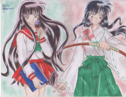 inuyasha girls fondo de pantalla probably containing anime called Switch lifes!!!!