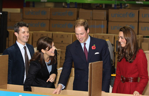 The Duke And Duchess Of Cambridge In Denmark