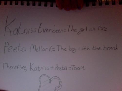 The Hunger Games - Katniss + Peeta
