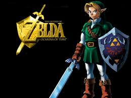 The Legend of Zelda Ocarina of Time - link Photo