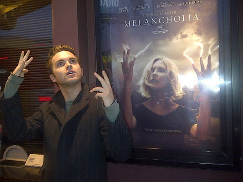Thomas seeing Melancholia