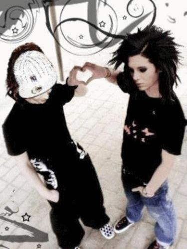 Tom & Bill Kaulitz of Tokio Hotel<3