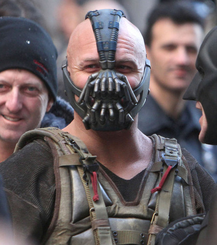 Tom Hardy IS Bane...