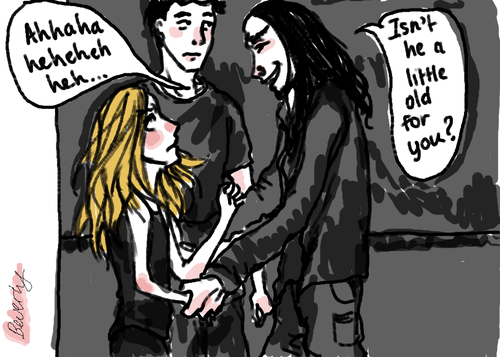 Tris, Four and Eric