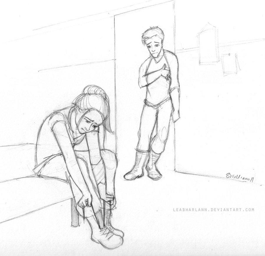 Tris and Four - Divergent Fan Art (27021740) - Fanpop