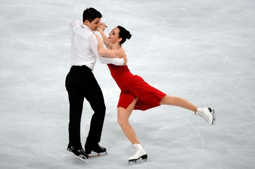 Trophy Eric bompard - tessa-virtue-and-scott-moir Photo