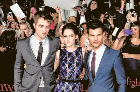 Twilight Saga Breaking Dawn part 1 Premiere