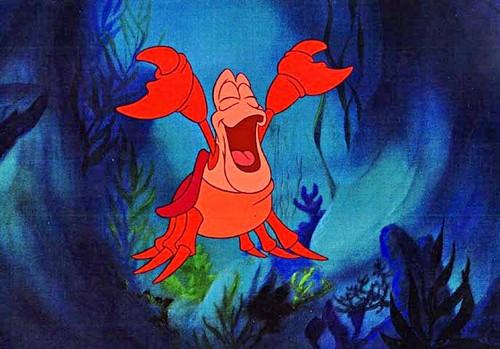 Walt Disney Cels - Sebastian