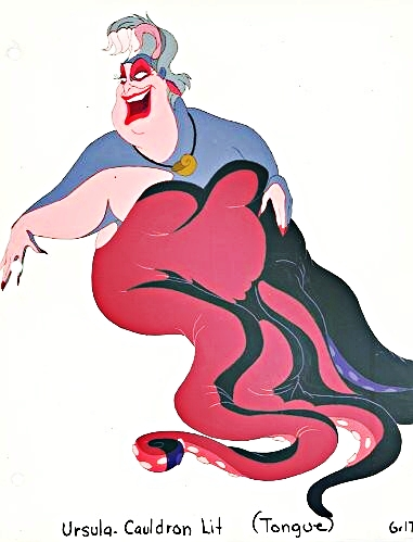 Walt Disney Production Cels - Ursula
