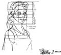 Walt Disney Model Sheets - Princess Belle