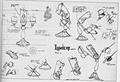 Walt Disney Model Sheets - Lumiere