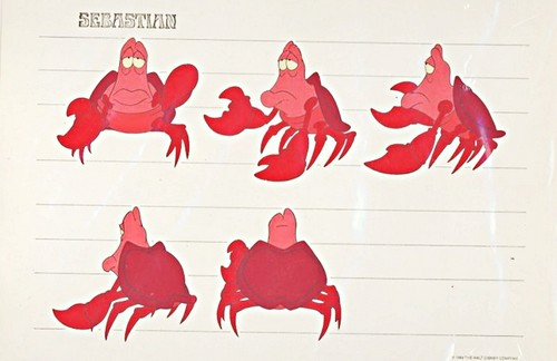 Walt Disney Model Sheets - Sebastian